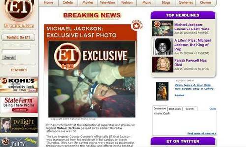 Mj hoax mix and documents