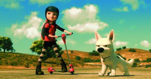 Disney's Bolt پیپر وال called مزید Disney Bolt <3