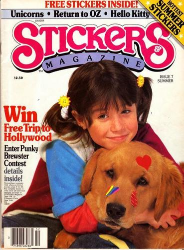The 80s wallpaper called Punky Brewster