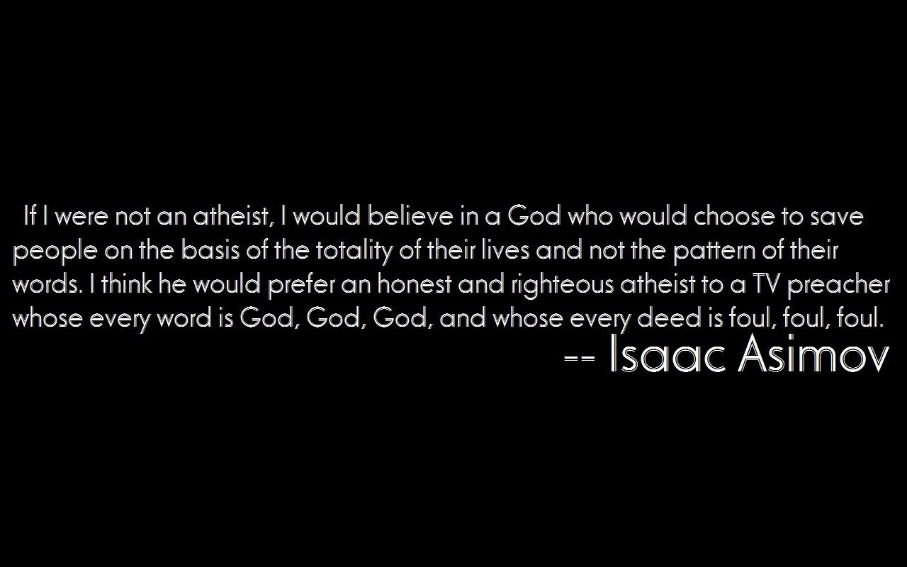 atheism righteous atheist