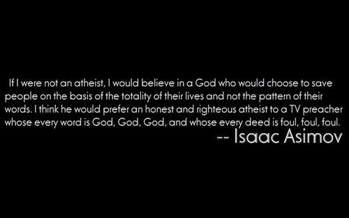 Righteous Atheist