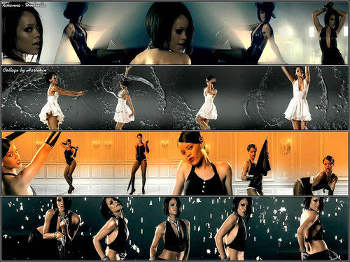 Rihanna ― Umbrella (Collage)