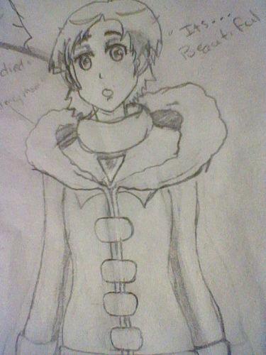 Saya - Drawing