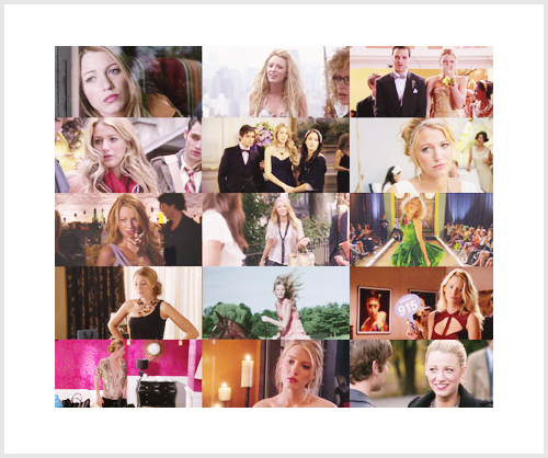Serena van Der Woodsen fond d'écran called Serena Collage