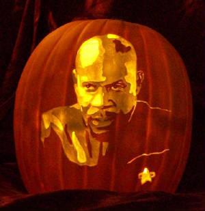 Benjamin Sisko - the pumpkin!!!