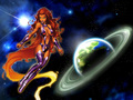 Starfire - femme-fatales wallpaper
