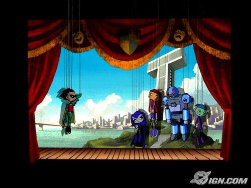 Teen Titans Puppets