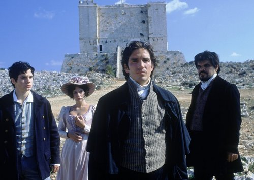 The Count of Monte Cristo wallpaper titled Albert, Mercedes, Edmond, and Jacopo