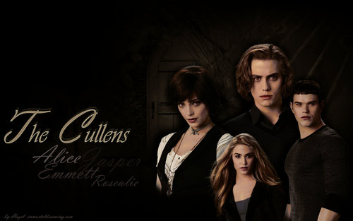 The Cullens Ecilipse - twilight-series Wallpaper