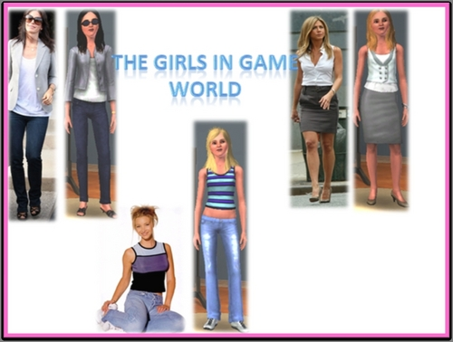 The Girls in Game World
