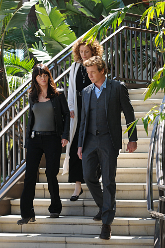 The Mentalist 2.22 - Red Letter, promotional 写真