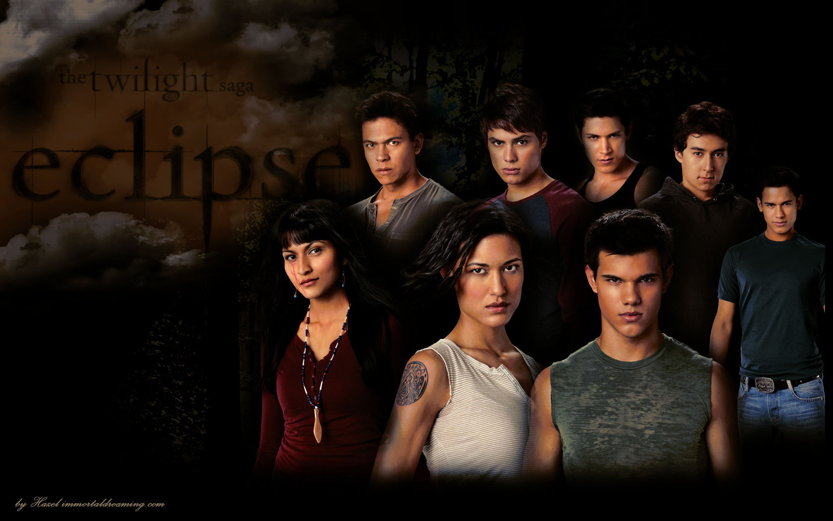 Twilight series the wolf pack family