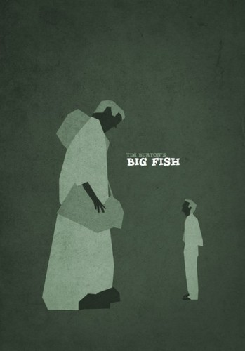 Tim Burton Minalist Posters