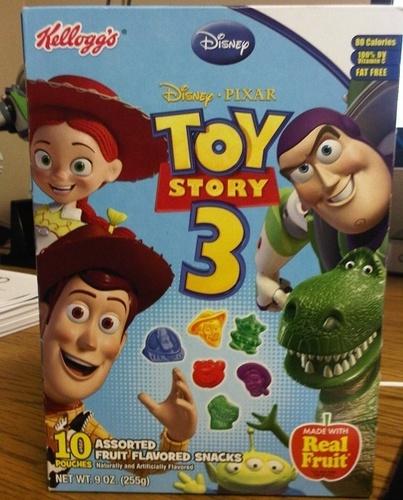 Toy Story 3 ফলমূল Snacks