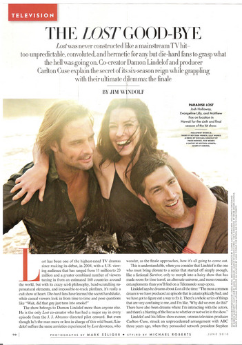Vanity Fair Scans - June 2010