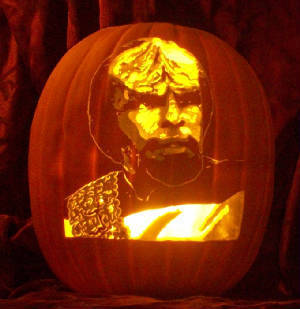 Worf - the pumpkin!!!