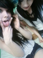 baileymargaret and mariainfinity - emo-girls photo