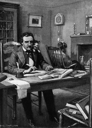 Edgar Allan Poe 壁纸 titled eap