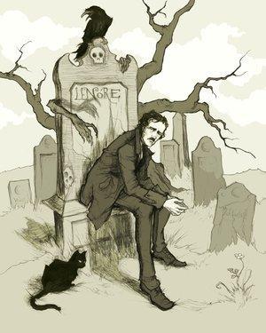 Edgar Allan Poe hình nền titled eap