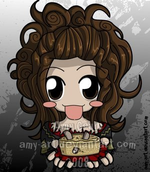 Nellie Lovett wallpaper entitled lol chibi ms. lovett