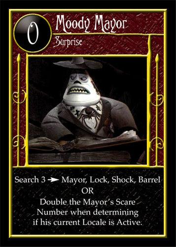 mad mayor card