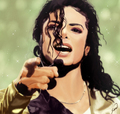 mj digital art - michael-jackson photo