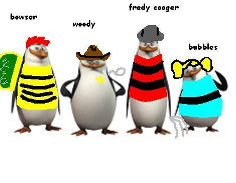 penguins of madagaacar in halloween! XD