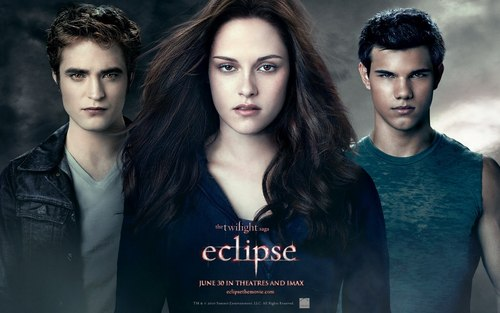 twilight Crepúsculo wallpaper called wallpapers oficiales de eclipse. =)