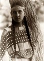 young native american girl - native-americans photo