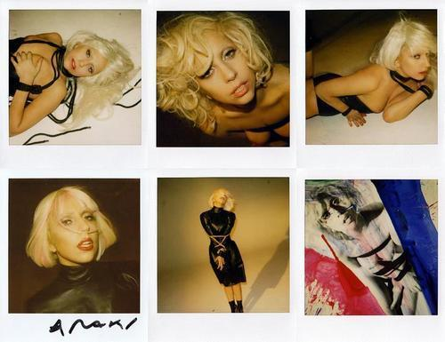 New Pics of Lady Gaga سے طرف کی Nobuyoshi Araki