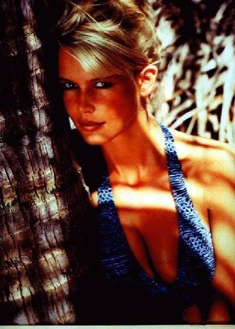 """old skool"" claudia schiffer"