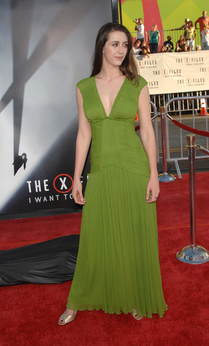 25/07/2008 - Madeline at The X-Files Premiere