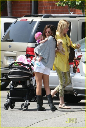 Ashley & Mikayla out in Hollywood