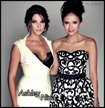AshleyGreene&NinaDobrev