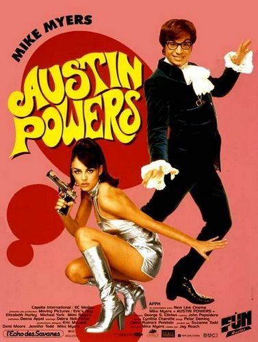Austin Powers: International Man of Mystery - Poster