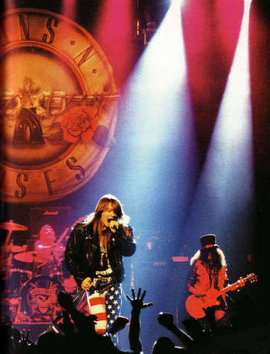 Axl Rose and 슬래쉬