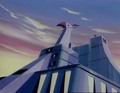Big Falcon at dawn - voltes-v screencap