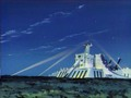 Big Falcon at night - voltes-v screencap