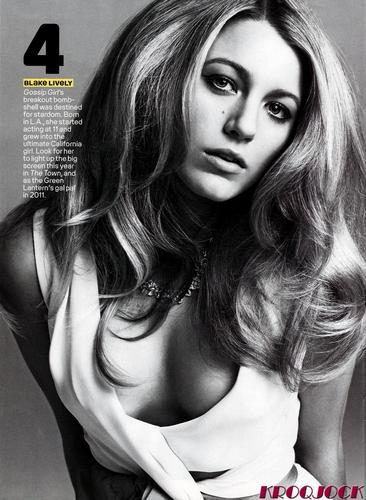 Blake Lively #4 On Maxim's Hot 100 of 2010