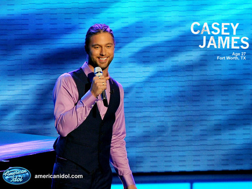 Casey American Idol parte superior, arriba 5 Wallpaper!