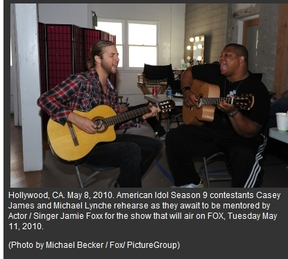 Casey and Big Mike Rehearse Duet