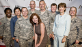 Cast Visits Walter Reed Medical Center - army-wives photo