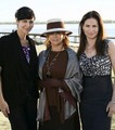 Catherine and Kim with Ann-Margret - army-wives photo