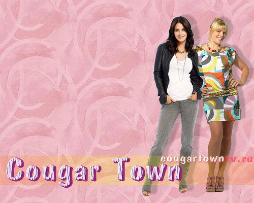 Cougar Town kertas-kertas dinding 2