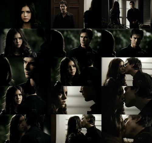 Damon and Katherine(Elena) 1.22