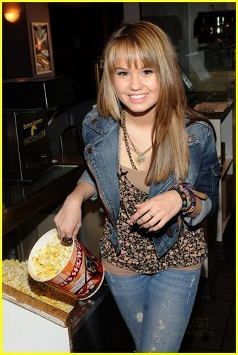 Debby Ryan is Popcorn Playful