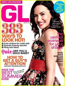 Demi Lovato Covers Girl's Life June 2010