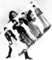 Diana with Beatles memorabilia