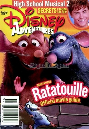 Disney Ratatouille Magazine