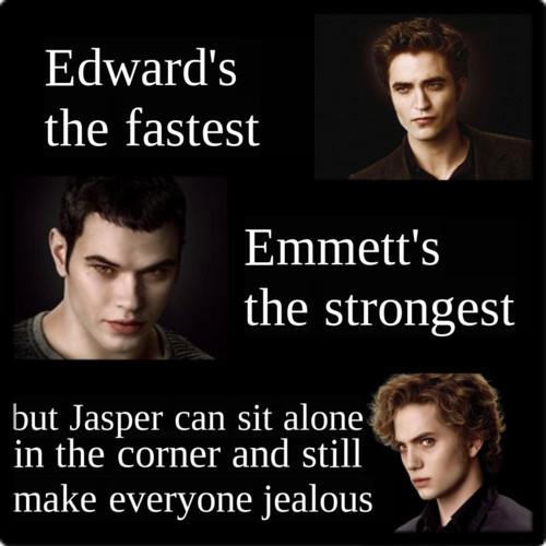 Edward, emmett, JASPER